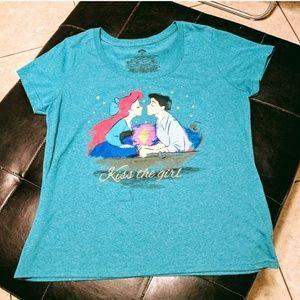 "Disney's Little Mermaid ""Kiss The Girl"" Tee"